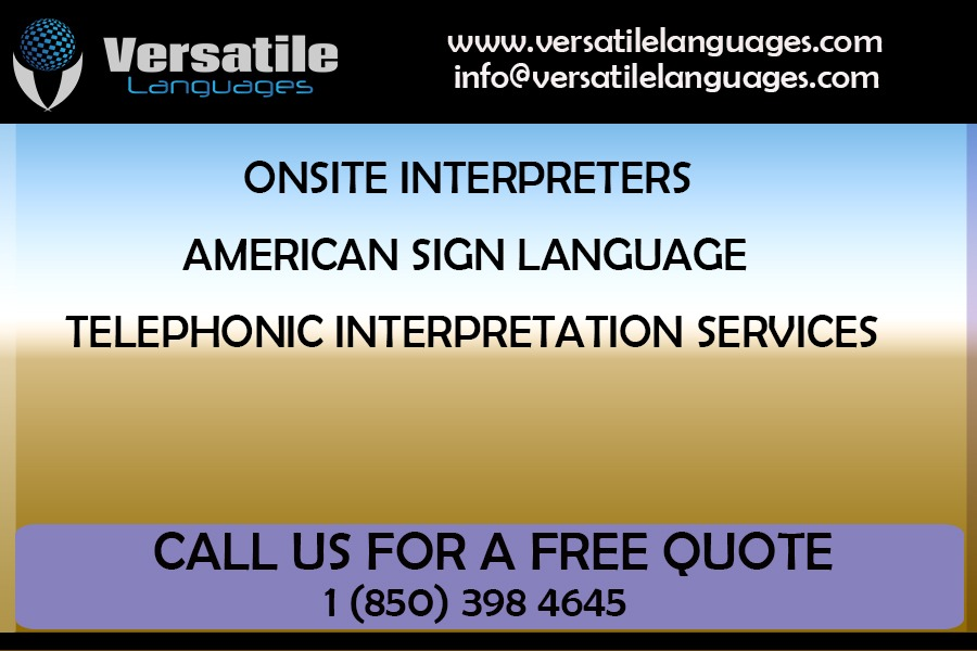 telephonic interpretation services in Florida