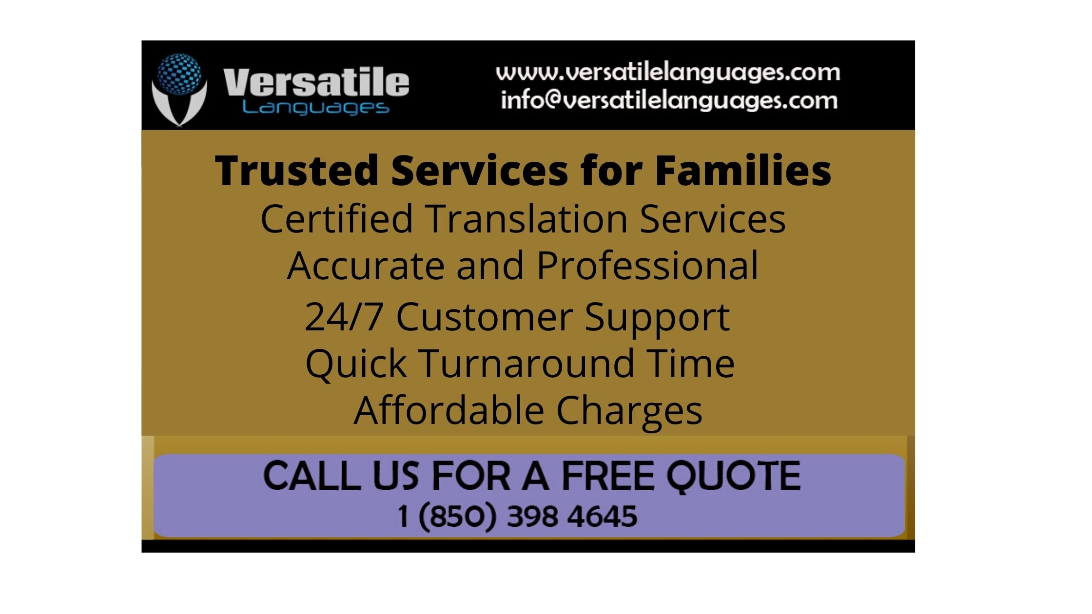 English to Creole Translation services in USA