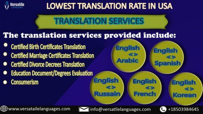 high school diploma translation services